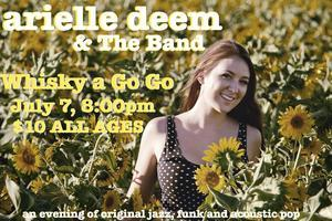Arielle Deem & The Band play THE WHISKY A GO GO
