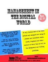 Artist Management in the Digital Age