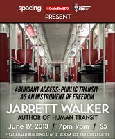 Jarrett Walker of Human Transit in Toronto