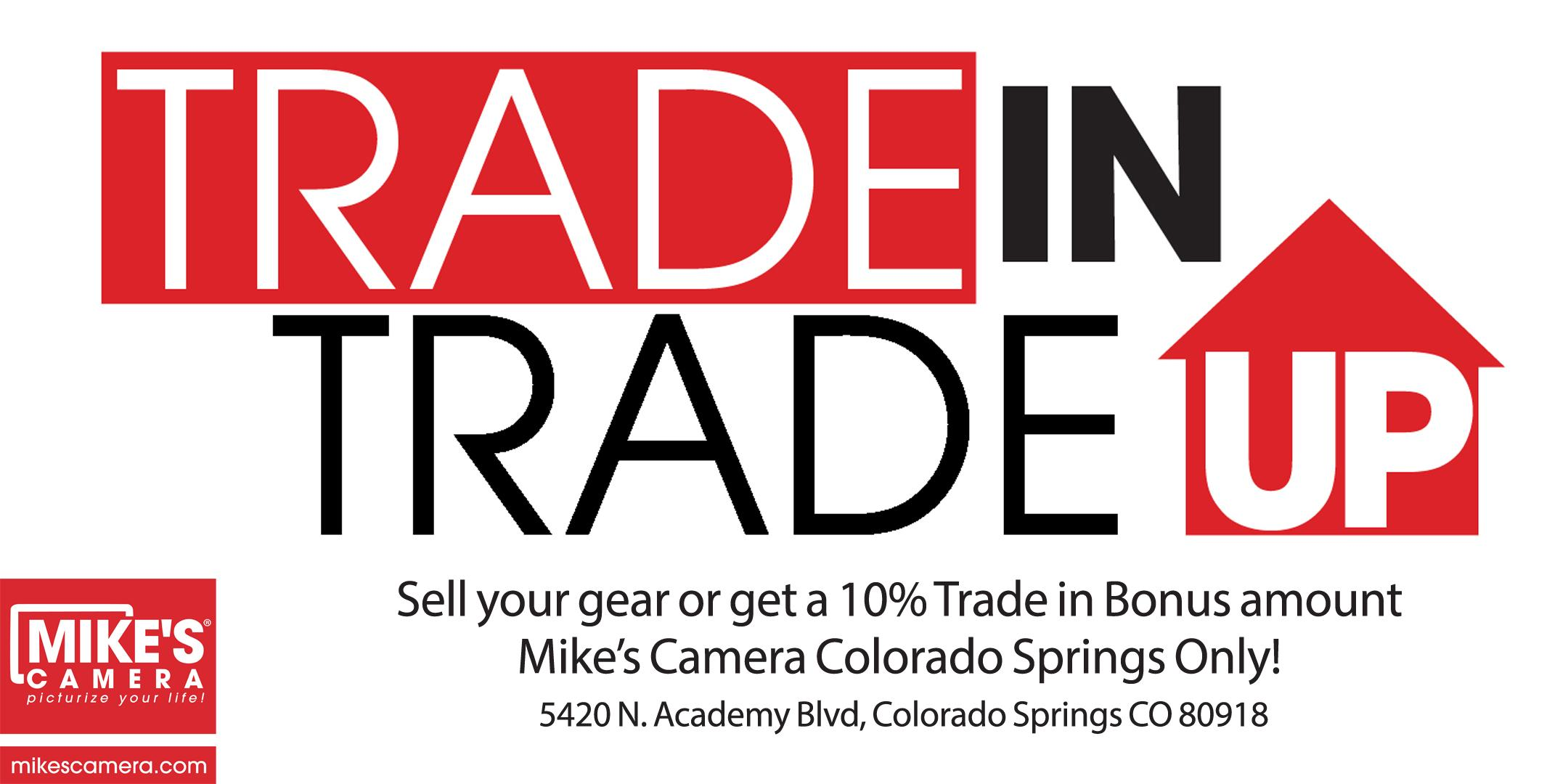 Sell your old gear or Trade up to new! - Colorado Springs
