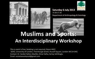Muslims and Sports Workshop