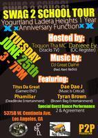 Yogurtland Ladera Heights 1 Year Anniversary Function