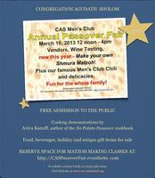 Men's Club Passover Fair