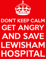PARTY & AUCTION TO SAVE LEWISHAM A&E!!