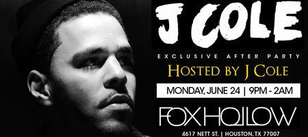 J COLE Concert Afterparty .:: HOSTED BY J COLE ::....
