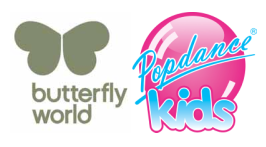 Butterfly World - Popdance Kids Class - 8 Nov to 13 Dec