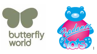 Butterfly World - Popdance Tots Class - 13/9 to 25/10