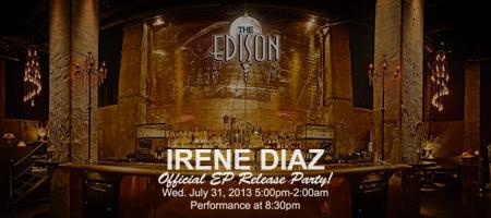 Irene Diaz Official EP Release Party