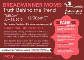 Breadwinner Moms: Truth Behind the Trend