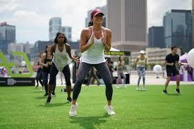 Get your fitness back : Beginner Body Pump Outdoor Fitness Class
