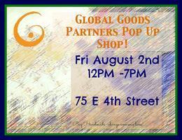 Global Goods Partners Pop Up Shop!