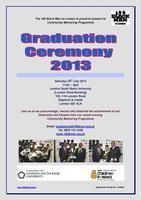 GRADUATION  2013 (100BMOL COMMUNITY MENTORING...