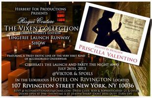 "VIP INVITE: HERBERT FOX PRESENTS:  The ""Vixen..."