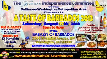 A Taste of Barbados 2013