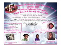 Women Of Substance Conference 2013