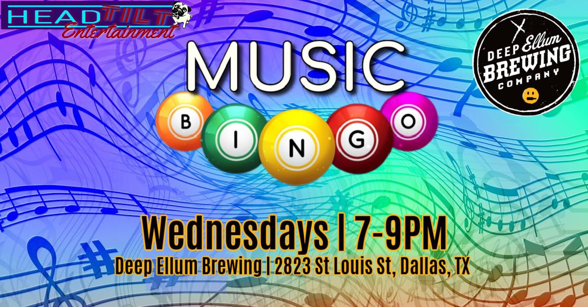 Music Bingo at Deep Ellum Brewing Company
