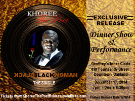 Khoree The Poet - Single Release Dinner Show