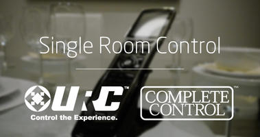 Single Room Control with URC Complete Control - AWE...
