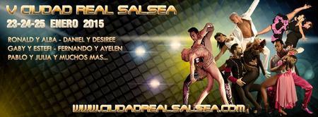 V CIUDAD REAL SALSEA. 23, 24 y 25 de Enero 2015