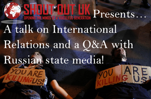 Join Us for a talk on International Relations and a...