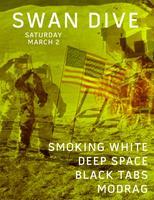 Smoking White + Deep Space + Black Tabs + MODRAG (SAT...