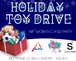 Holiday Party: Toy Drive, Networking & Party