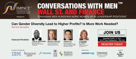 Conversations with On Wall St & Finance: Engaging Men...