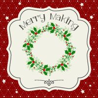MERRY MAKING - Ghirlanda natalizia!