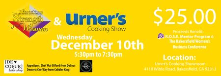 Urner's Cooking Show December 10th