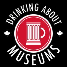 Drinking About Museums Ottawa-Gatineau logo