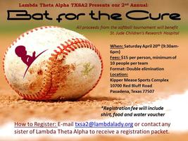 2nd Annual Bat for the Cure