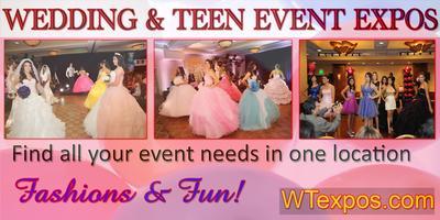 FREE WEDDING QUINCEANERA  EXPO SUNDAY 1/4/15@ Howard...