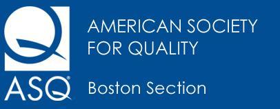 BOSCON 2015, The Boston Quality Conference