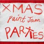 'XMAS SPECIAL:Paint Jam Night' with Xmas LIFE PAINTING...