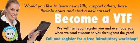 Train as a Virtual Tutor Facilitator & support...