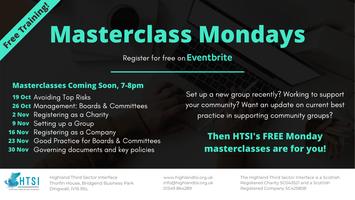 Masterclass Monday -  Governing documents and key...