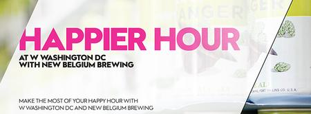 Happier Hour at W Washington DC with New Belgium Brewin...