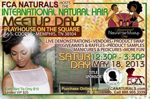 FCA Naturals hosts International Natural Hair Meetup...