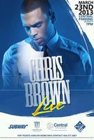 SUBMIT TO OPEN FOR CHRIS BROWN IN NEW ORLEANS MARCH 23...