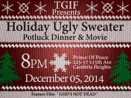 "T.G.I.F.: ""The COTH Ugly Sweater, Potluck Dinner & a..."