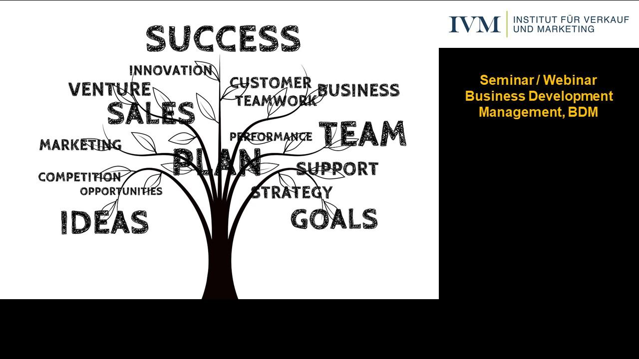 Seminar Business Development Management, 2-tägiges Präsenzseminar