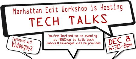 MEWShop TECH TALK Partnered with Videoguys.com