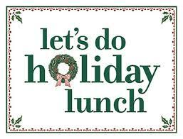 ISES NJ South Presents: Let's Do Holiday Lunch!