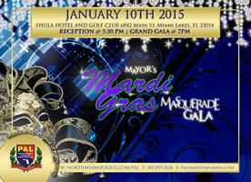PAL of North Miami Mayor's Mardi Gras Masquerade Gala