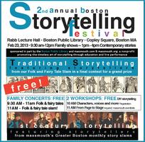 "Workshop: ""Family Stories - Live!"" with Norah Dooley"