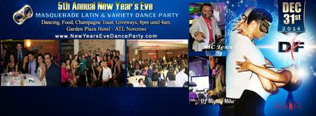 Atlanta's NYE 2015 - Masquerade Salsa & Variety Dance...