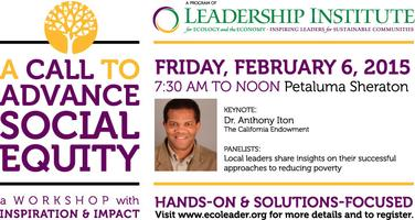 A Call to Advance Social Equity: A Workshop with...