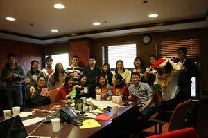 Holiday Card Making Party: community service event