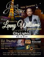 LENNY WILLIAMS @ CITY LIGHTS   Fri Dec 5th