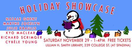 Small Print Toronto & Tundra Books' Holiday Showcase